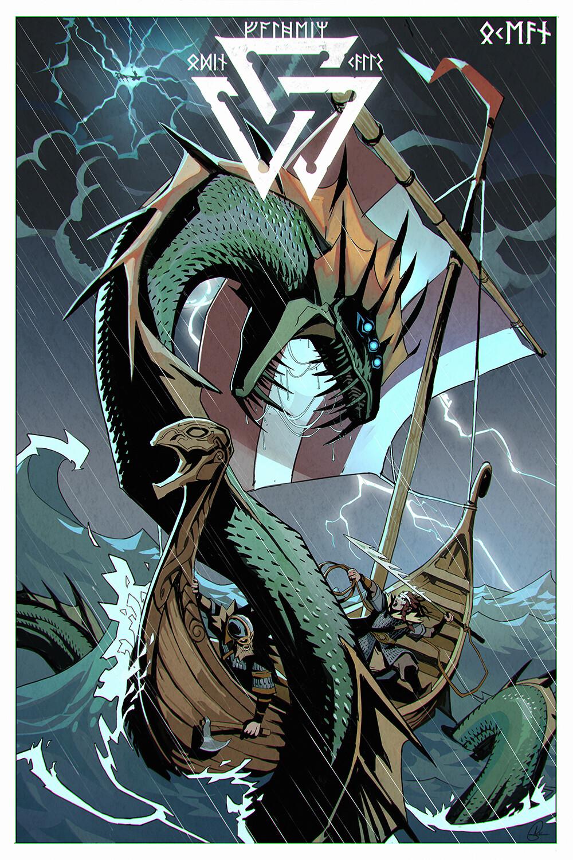 Valheim Poster - Fanart - Ocean Biome