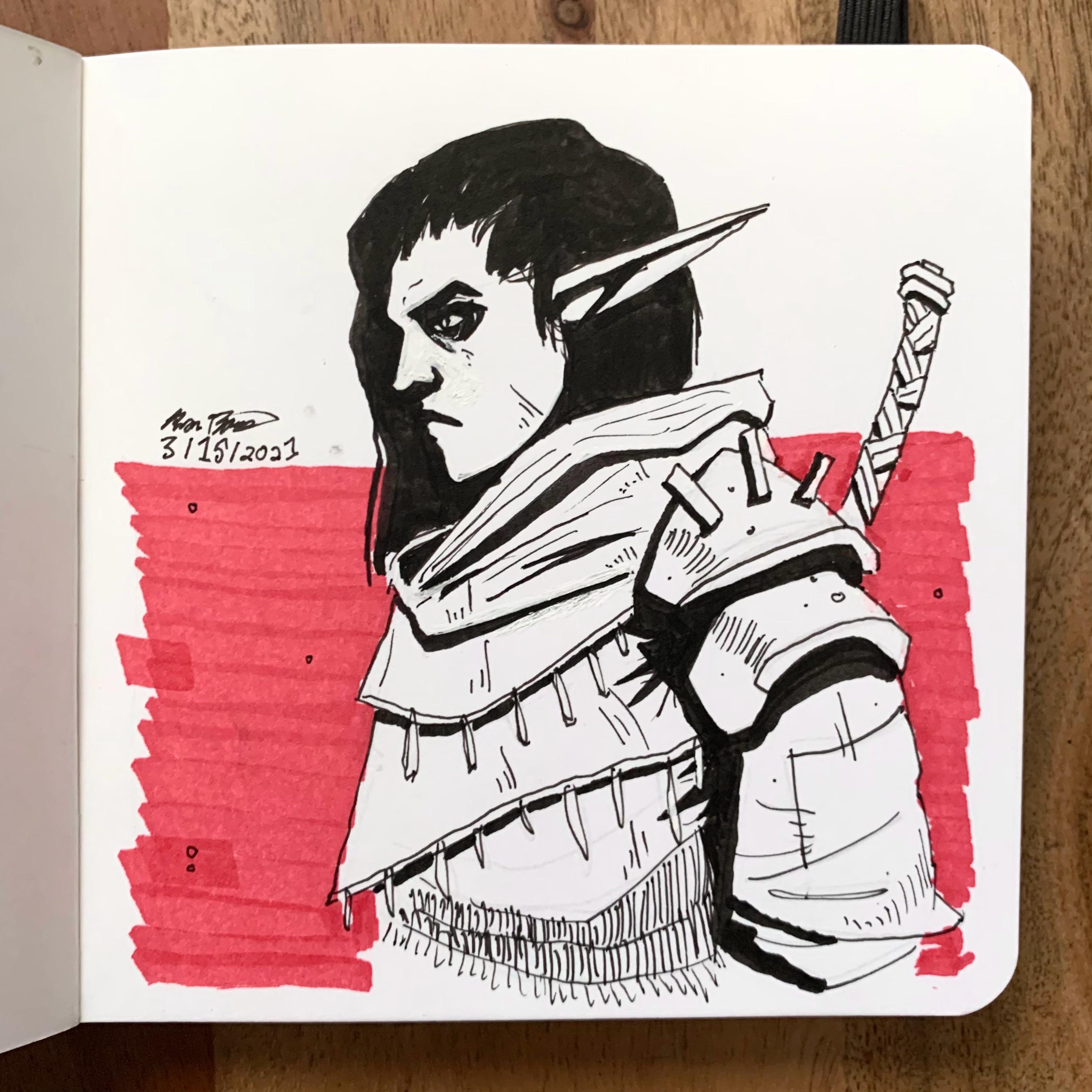 Drow Swordsman