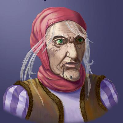 Baba Yaga Portrait