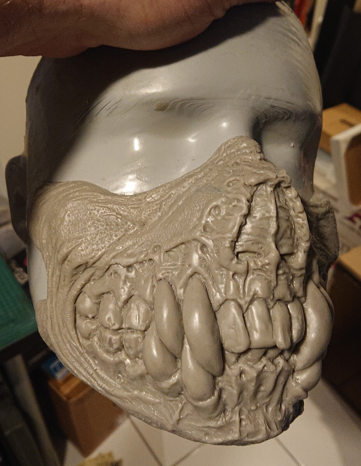 Monster clay mask