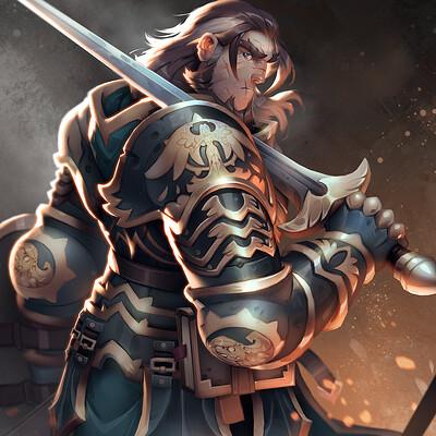 Johannes helgeson knightillustration08