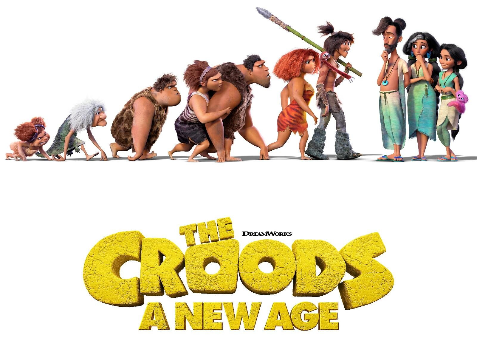 I worked on the Dawn model. all other aspects were done by the amazing Croods new age team at Dreamworks Animation.