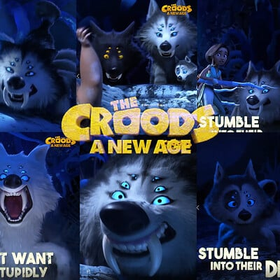 Croods A new age - Wolfspiders