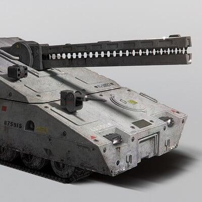Neil blevins futuristic tank 3