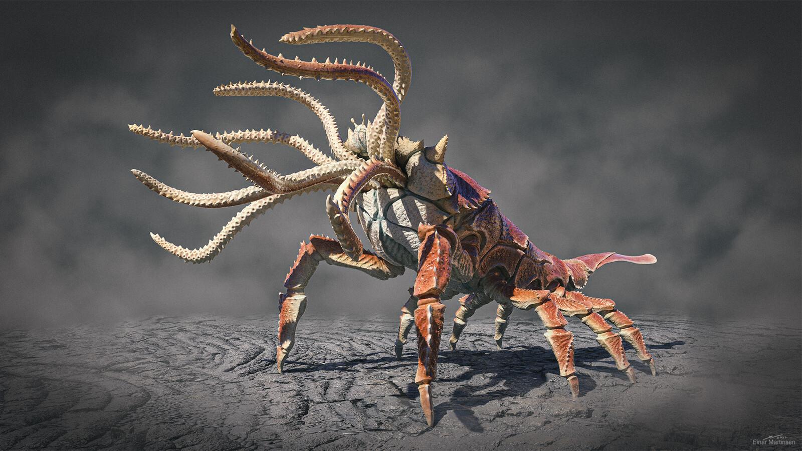 Kraken creature design
