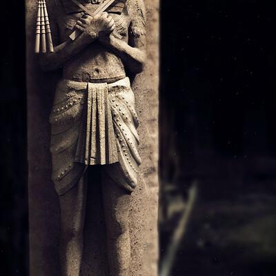 Surajit sen horus digital sculpture surajitsen april2021a look2 l