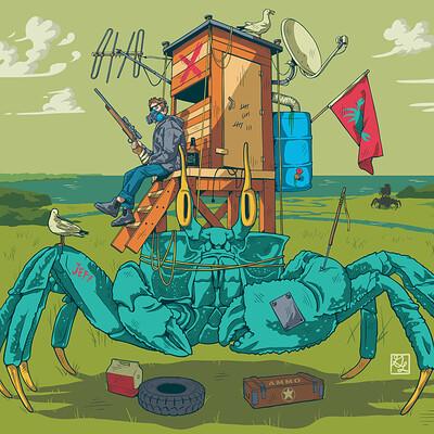 Garrett landry crab recon