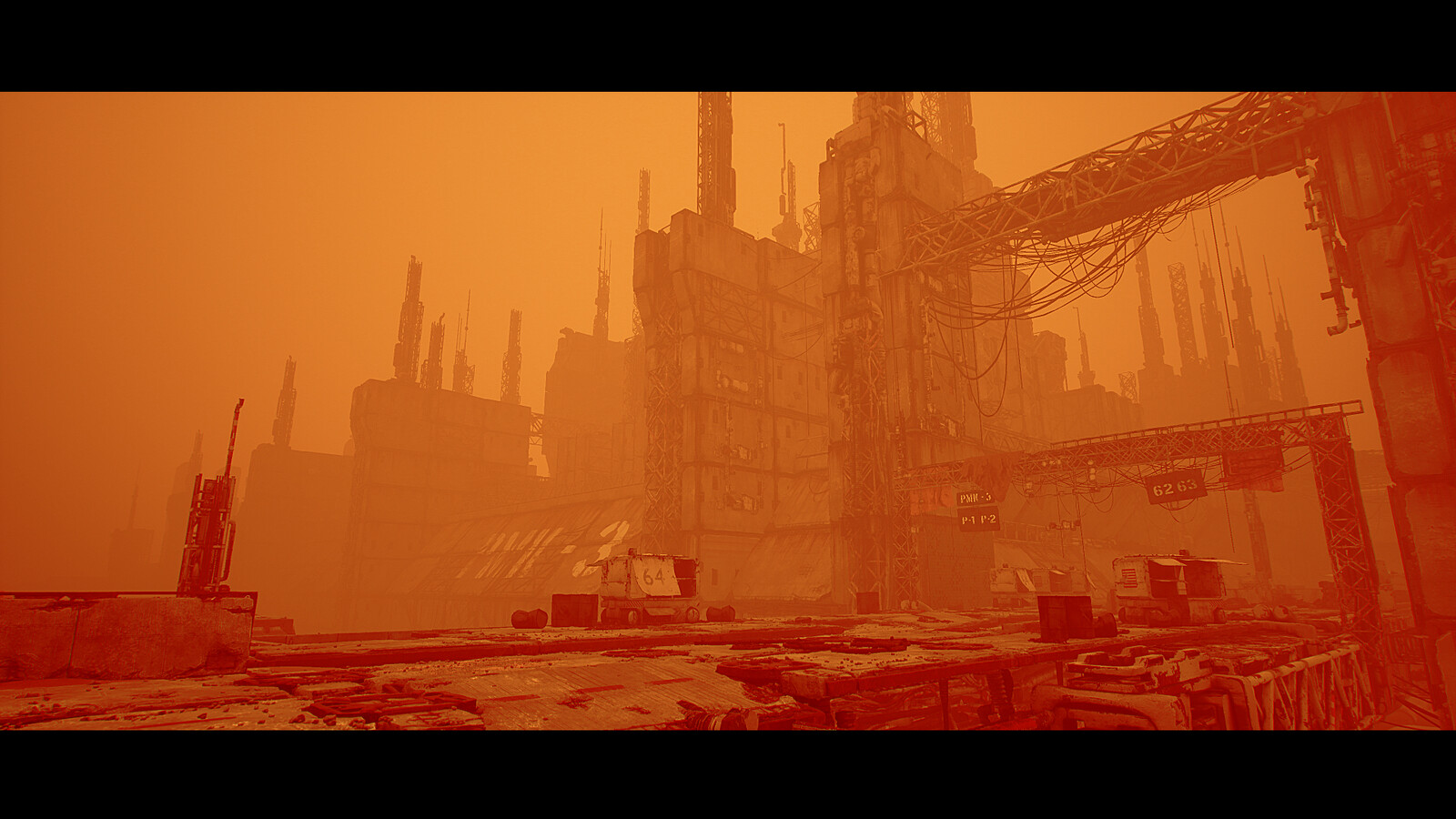 going for a Blade runner 2049 look here