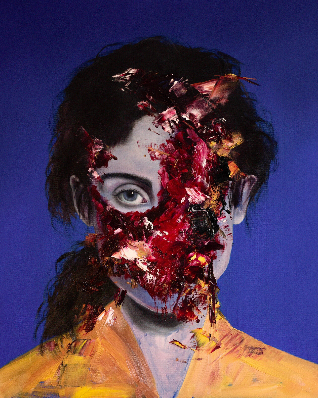 Portrait of a Lady on Fire (Oils).