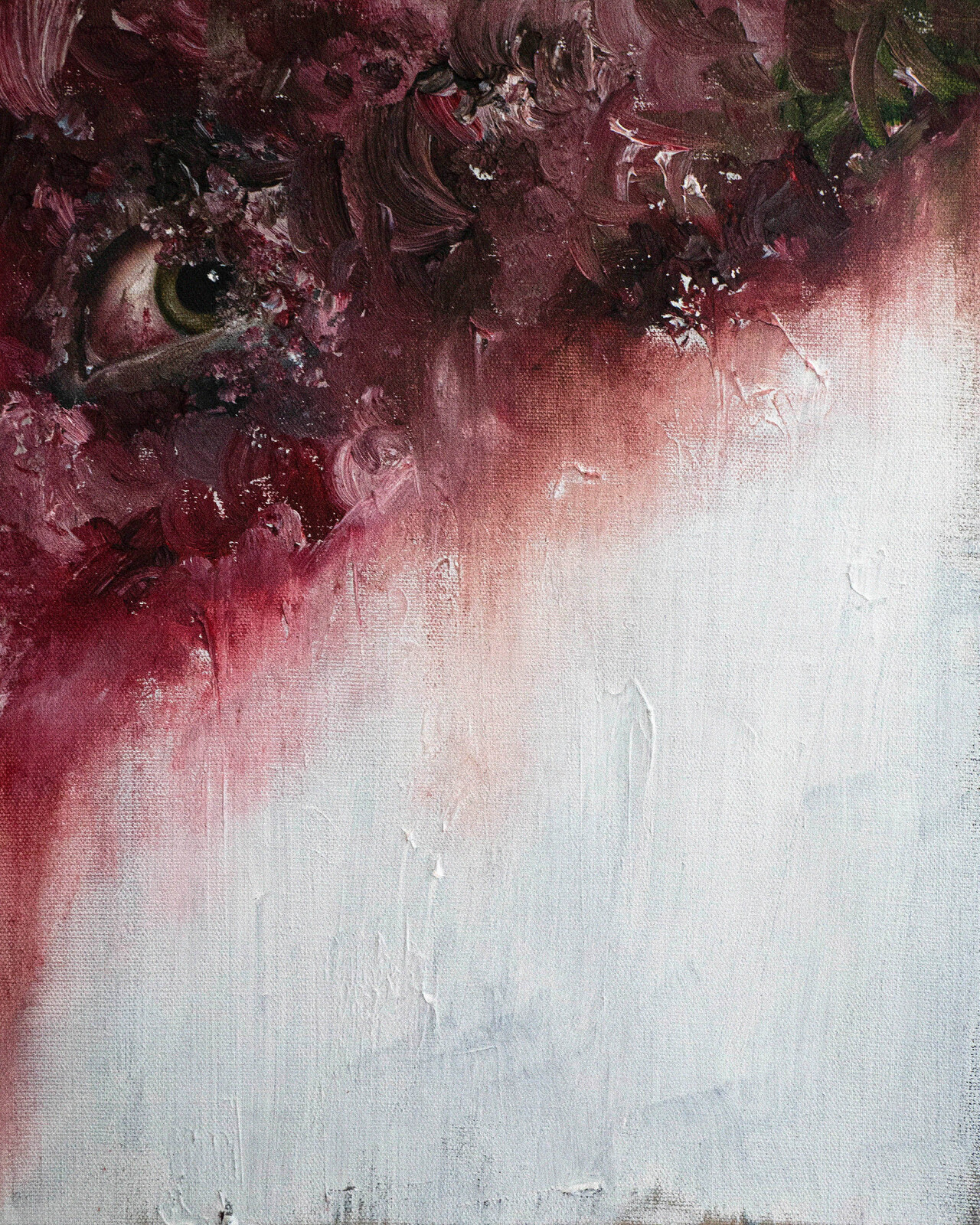 Buried in Flesh (Oils).