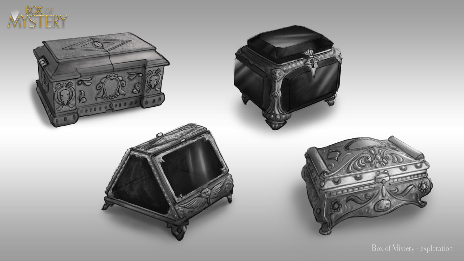 Prop design - Box of mystery