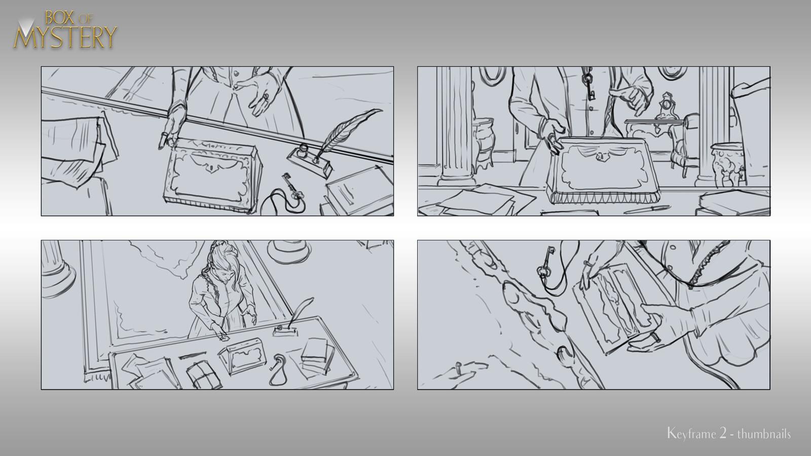 Keyframe 2 Sketches