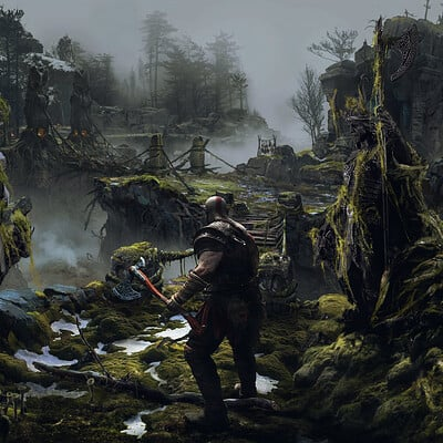 Eugene dlcrx god of war 4