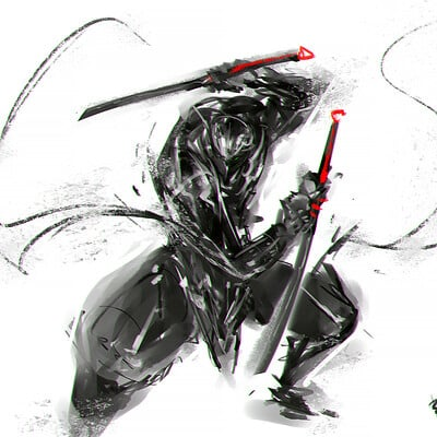 Benedick bana speedpaint ninja lores