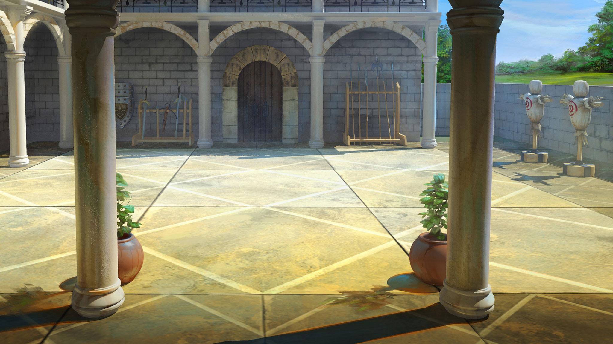 The Training Courtyard