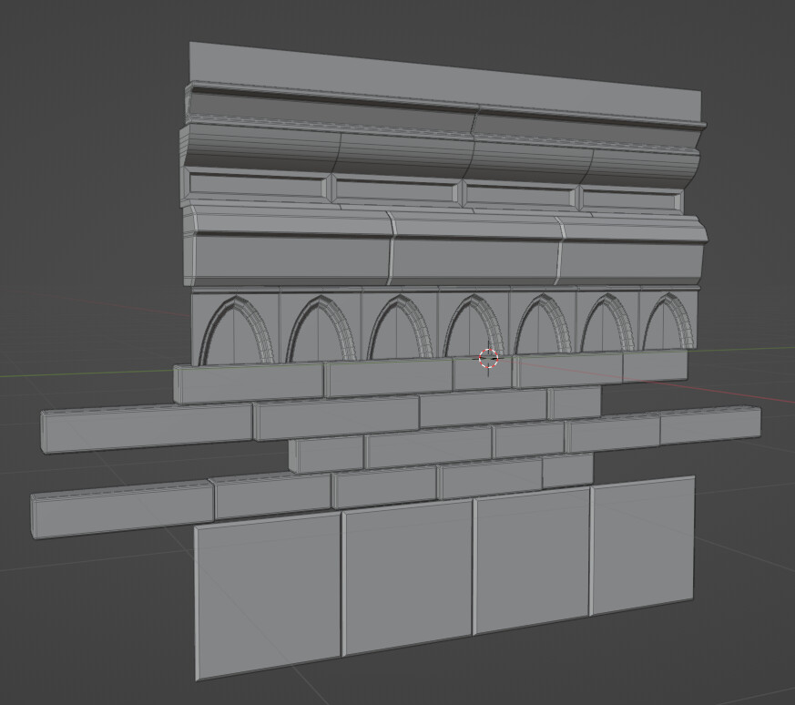 Blockout in Blender