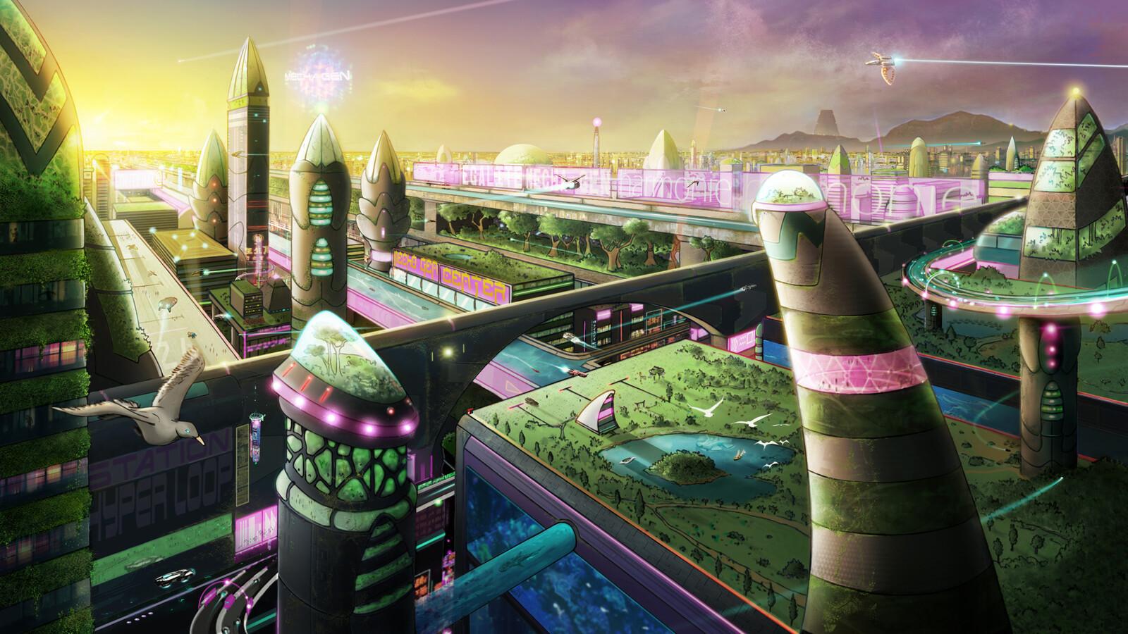https://artemus-prod.com/index.php/animation/ Art director : François Belliart Concept story : Eddy Rokmer Concept art : Lopez Sylvain