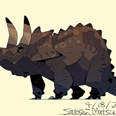Satoshi matsuura 2021 04 12 triceratops s