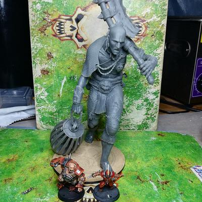 Galladur s 3d printed models giant poacher 4 00008