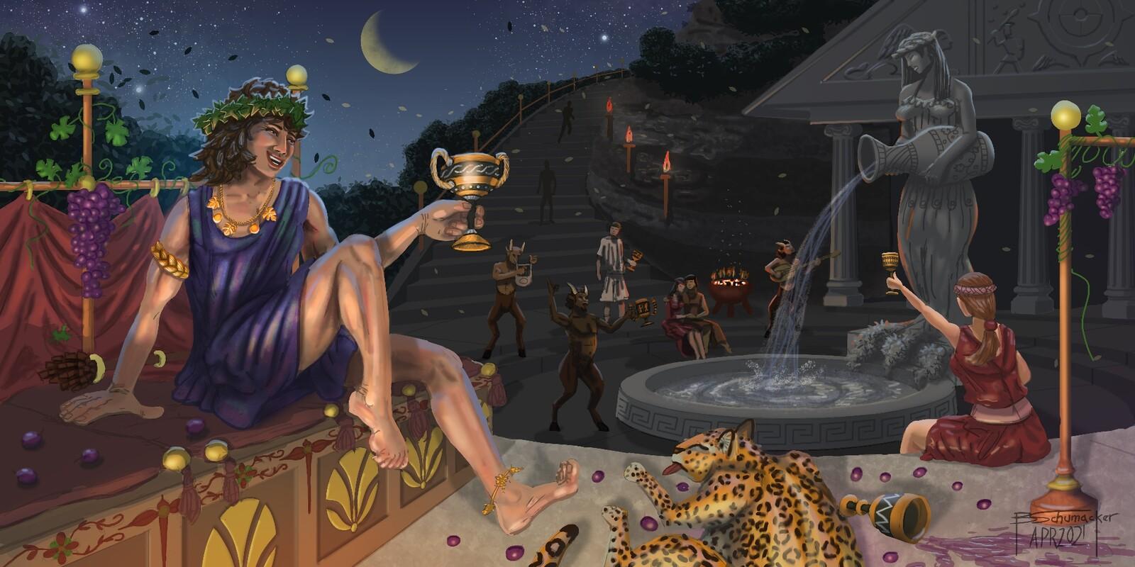 Dionysus - God of Wine