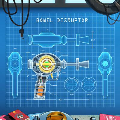 Darren strecker bowel disruptor blueprints