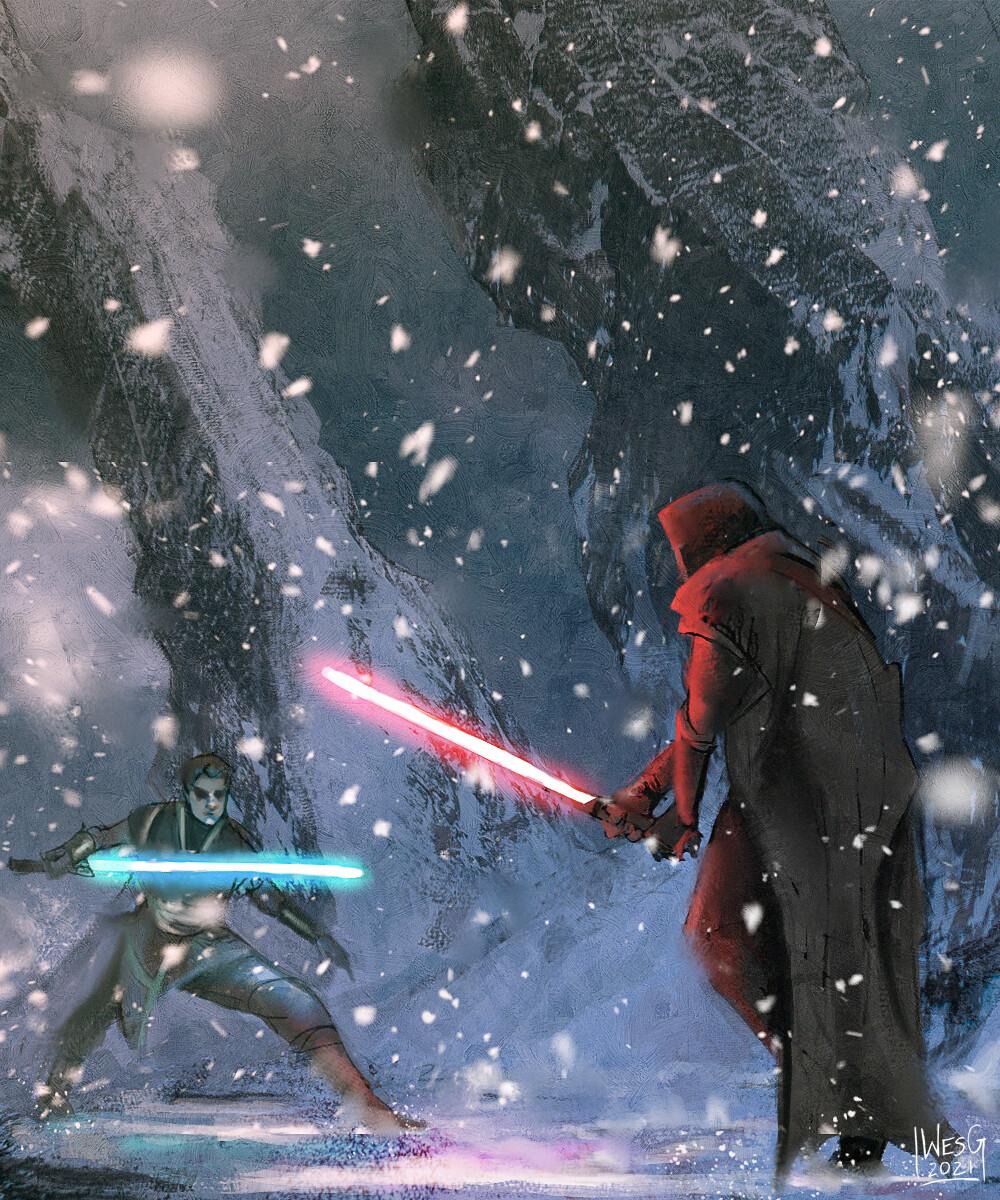 Jedi Battle Sketch