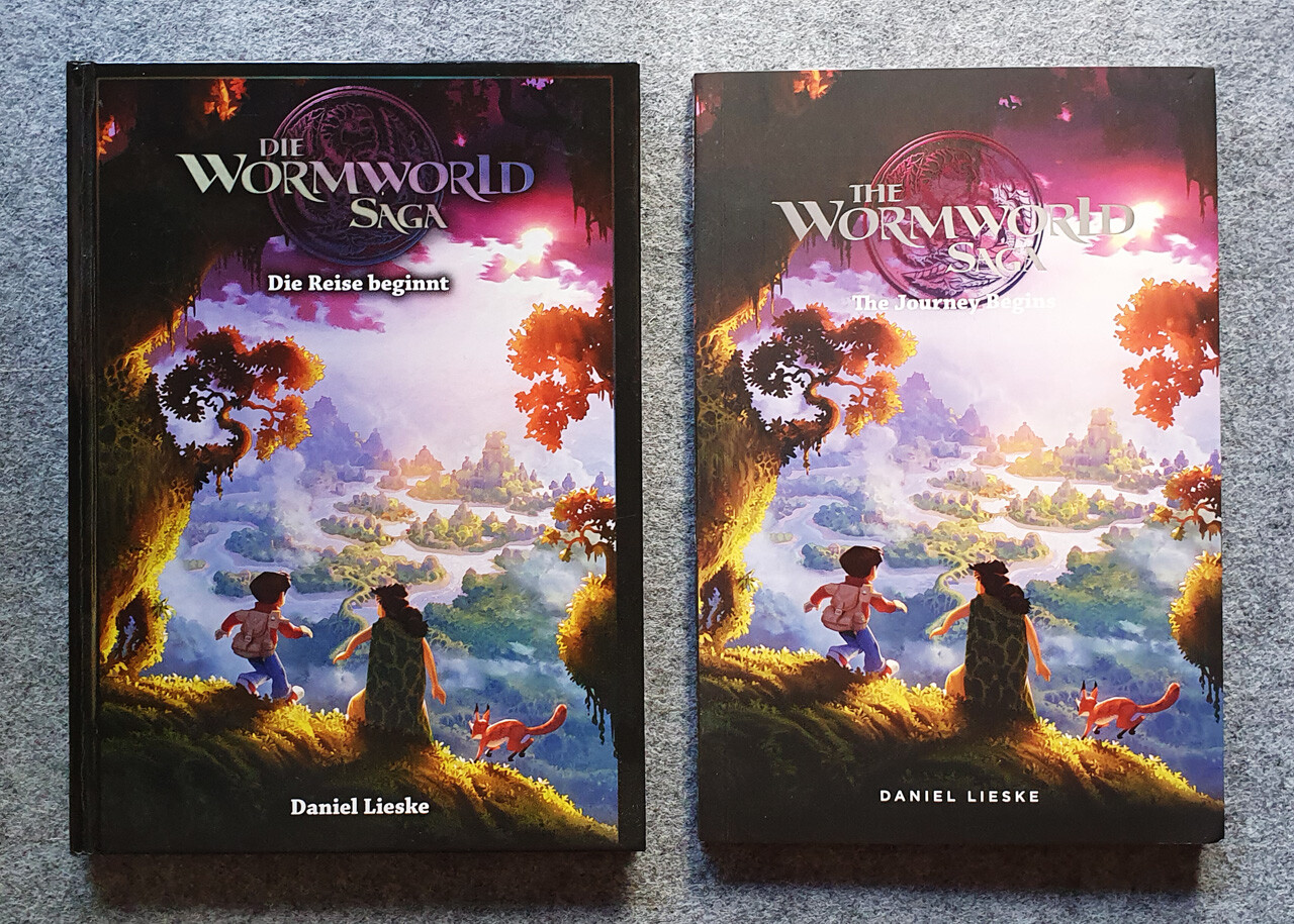 Volume 1 German Hardcover and US Softcover