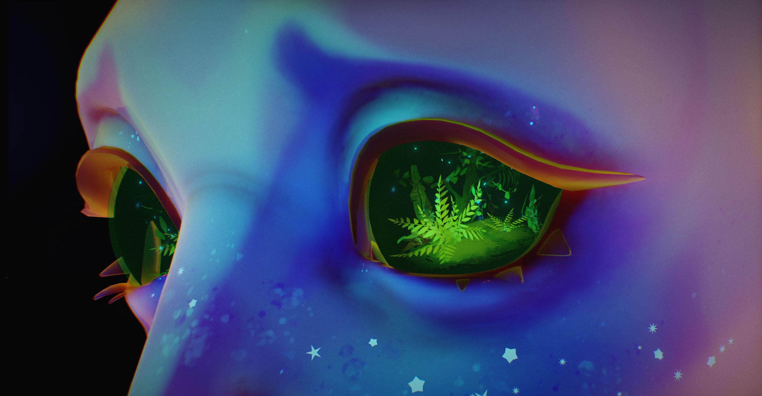 Eyeball rainforest