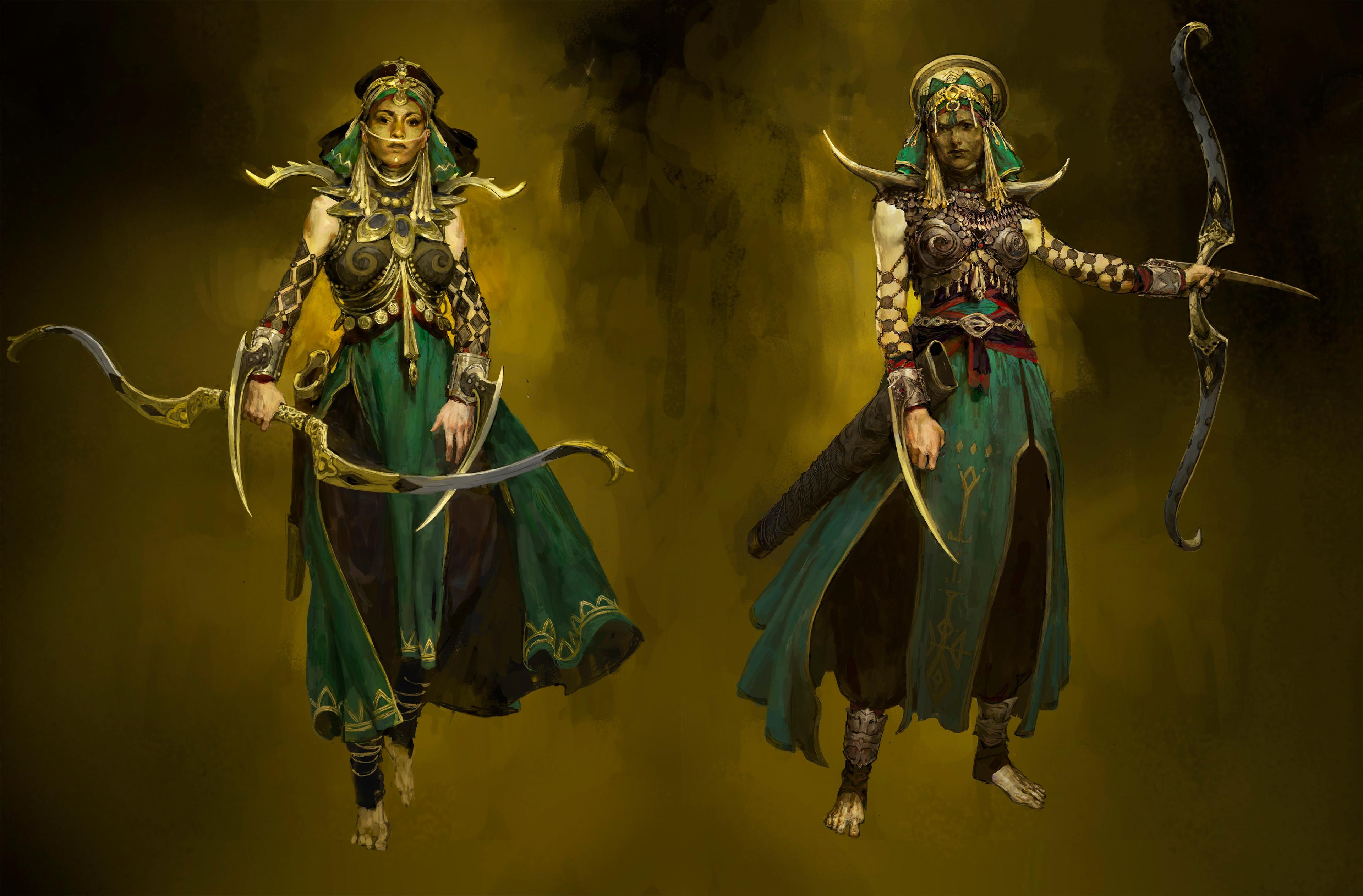 Maraketh female warriors