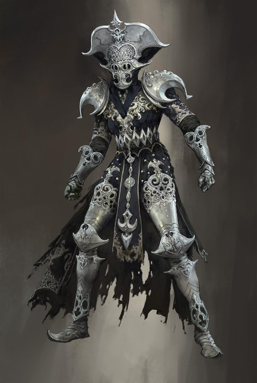 Faridun player armor set