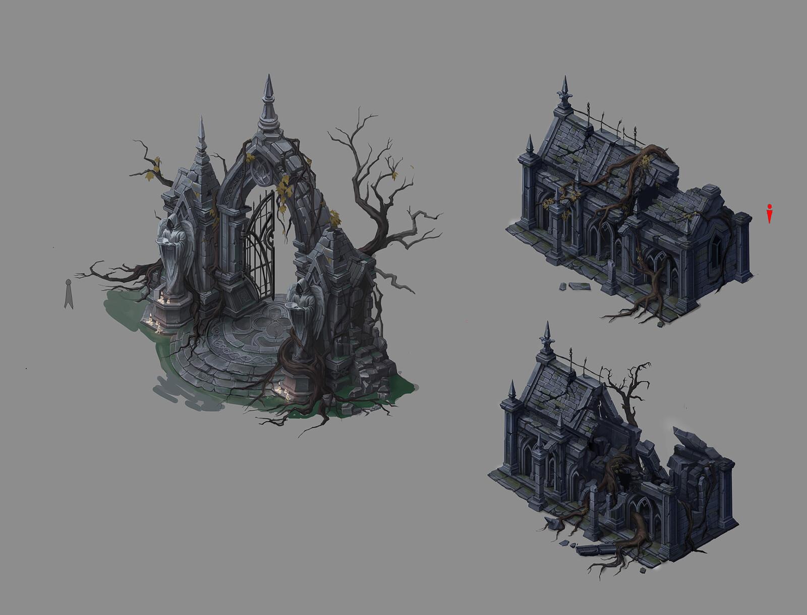 Fantasy Building Designs