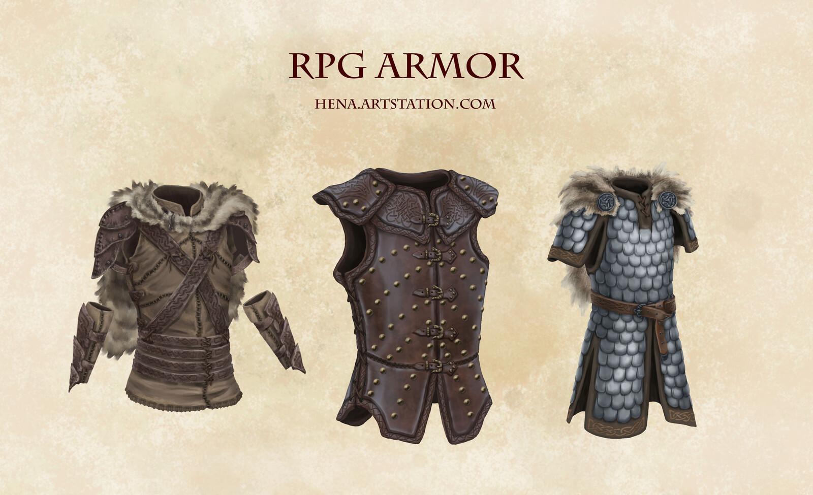 DSA: RPG Armor (Thorwal)