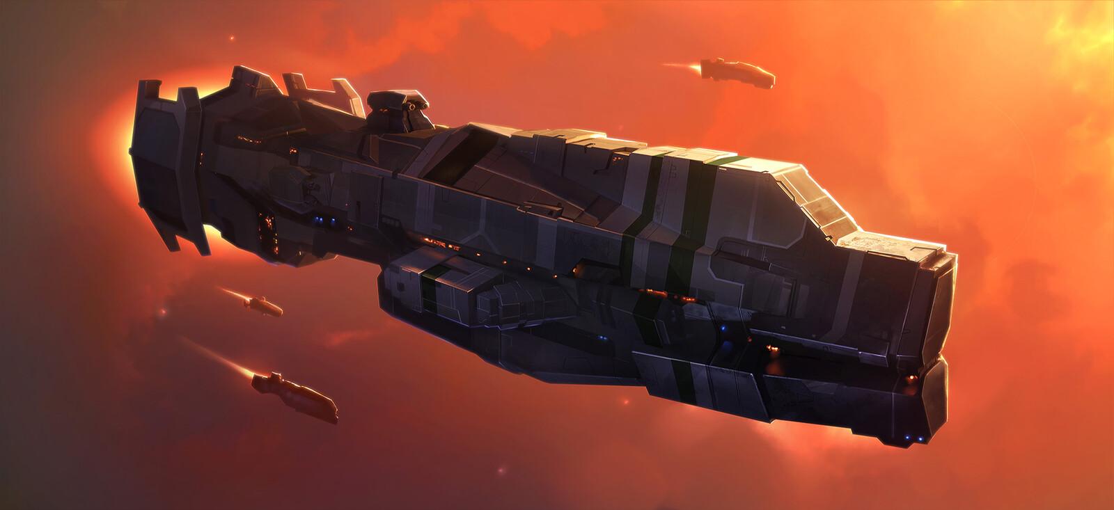 Terran Destroyer