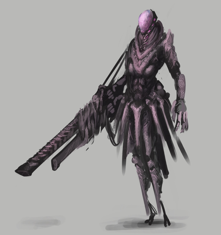 Bio-warsuit concept art