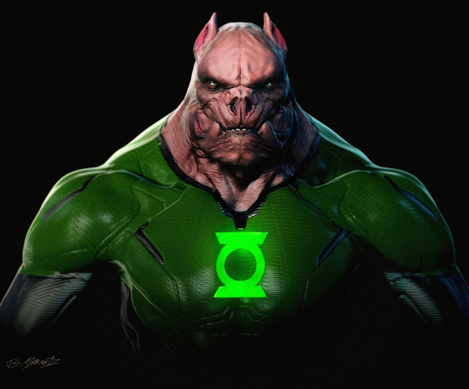 KILOWOG Designs for Zack Snyder's Justice League