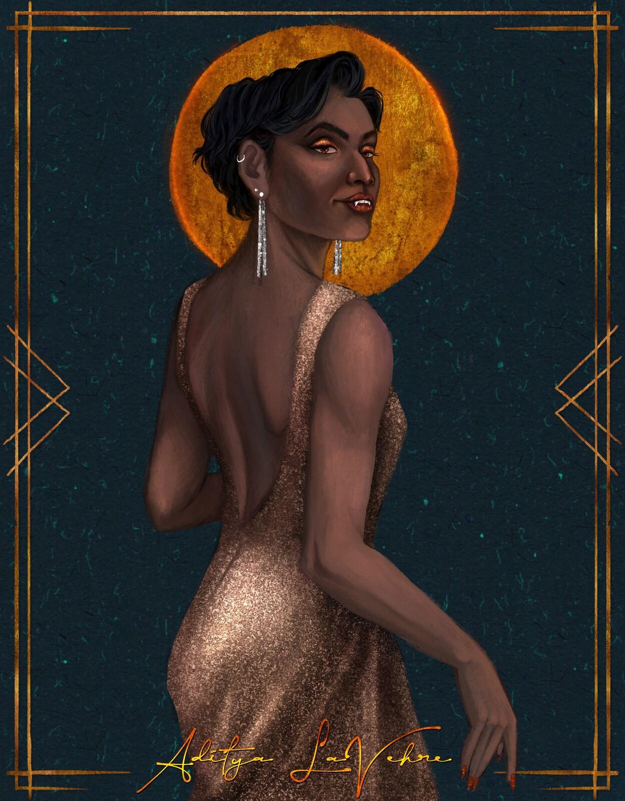 Character Illustration - Aditya LaVehre