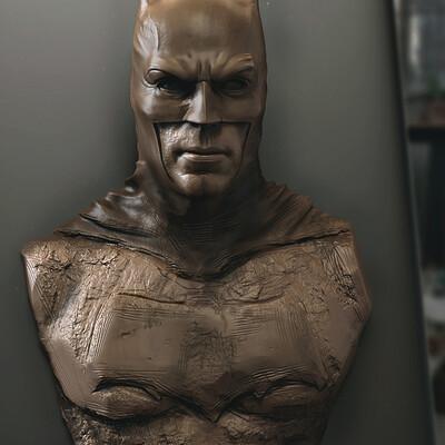 Surajit sen batman digital sculpture surajitsen april2021a1 l