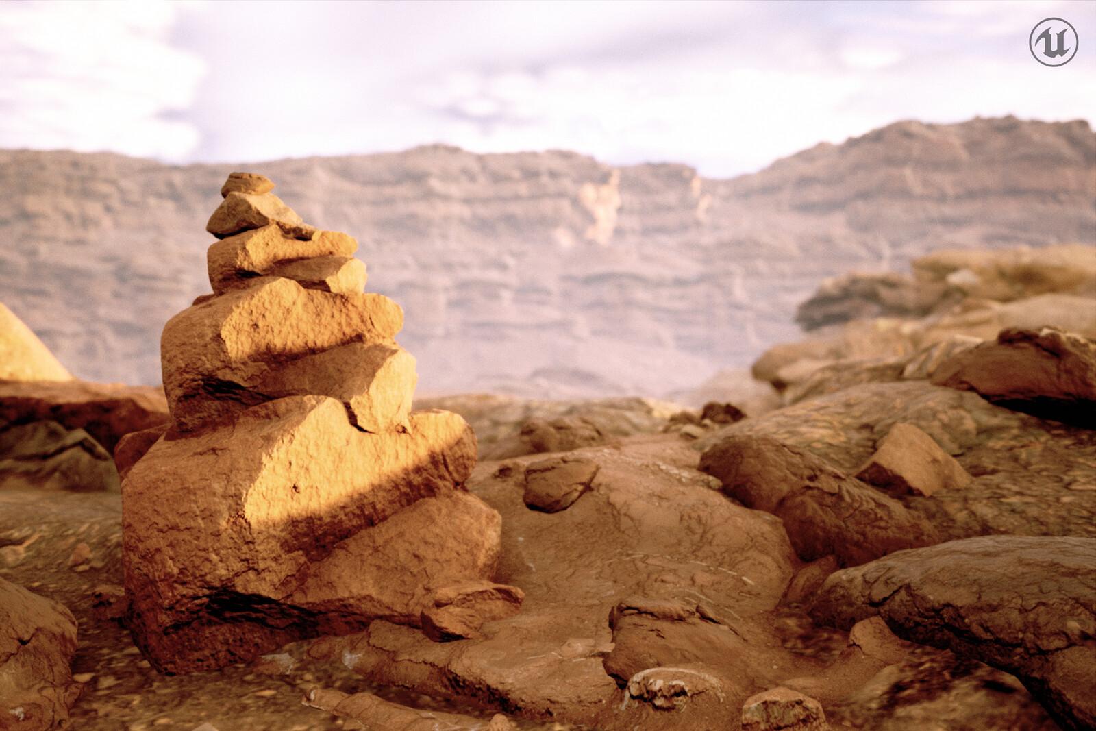 The Barren Rock