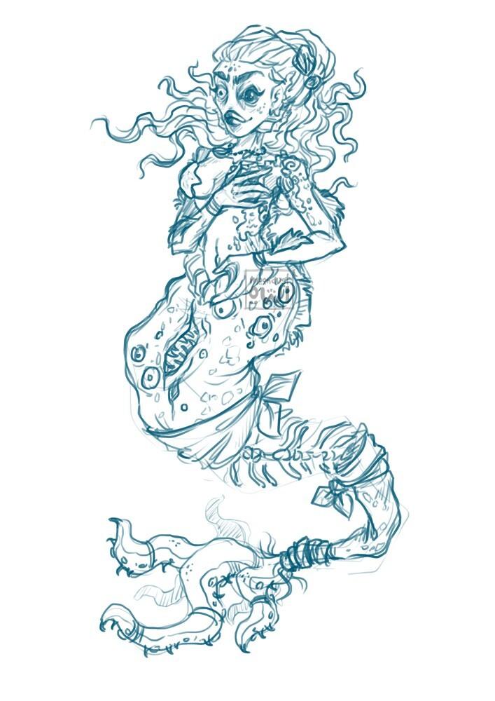 Final sketch for corrupted version