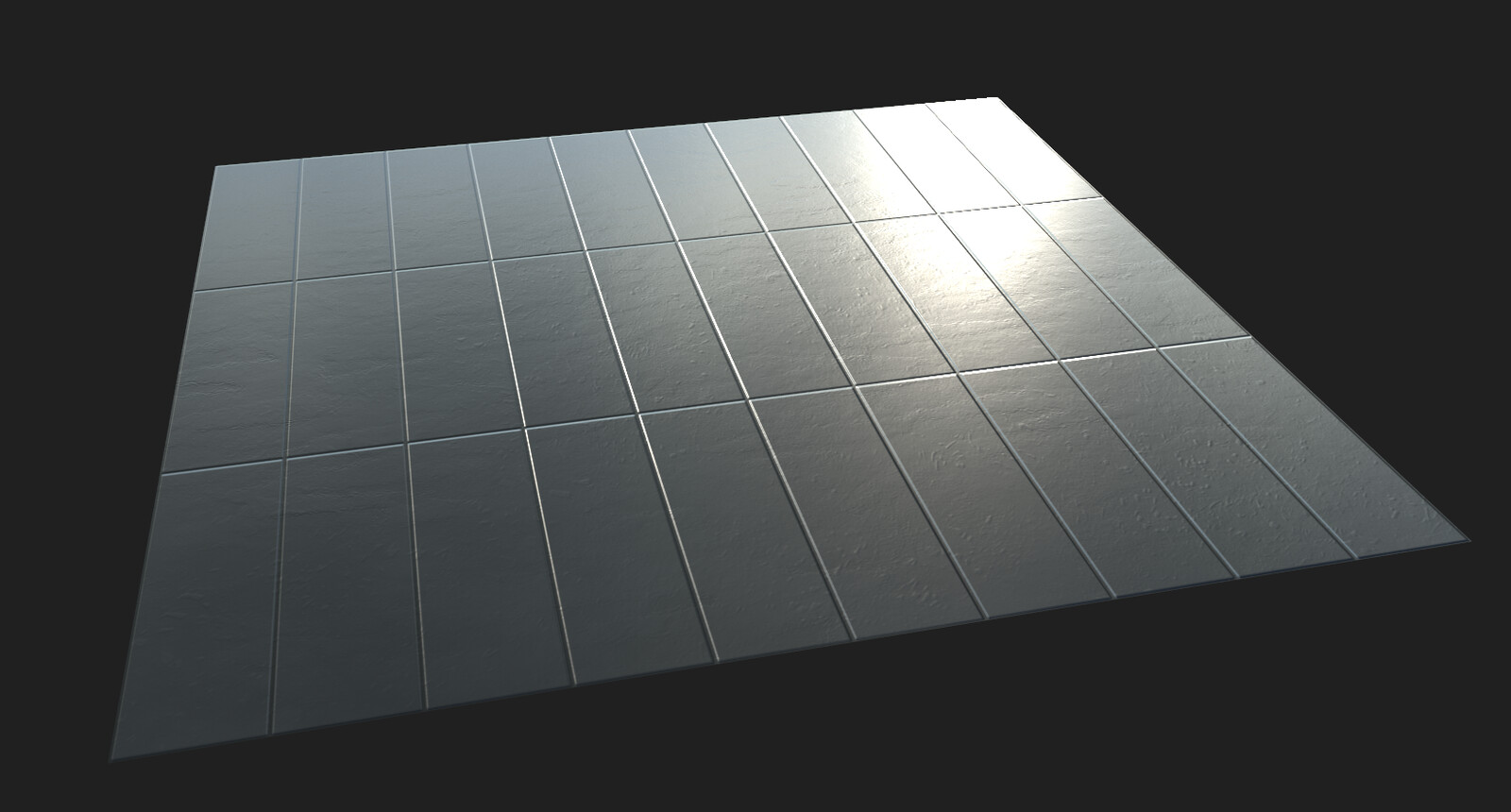 Roof tiling material