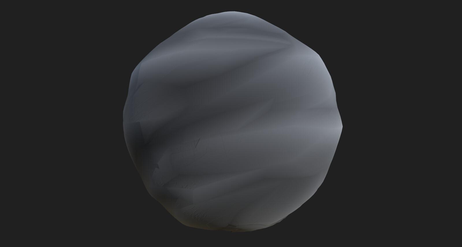 Stylized stone 2