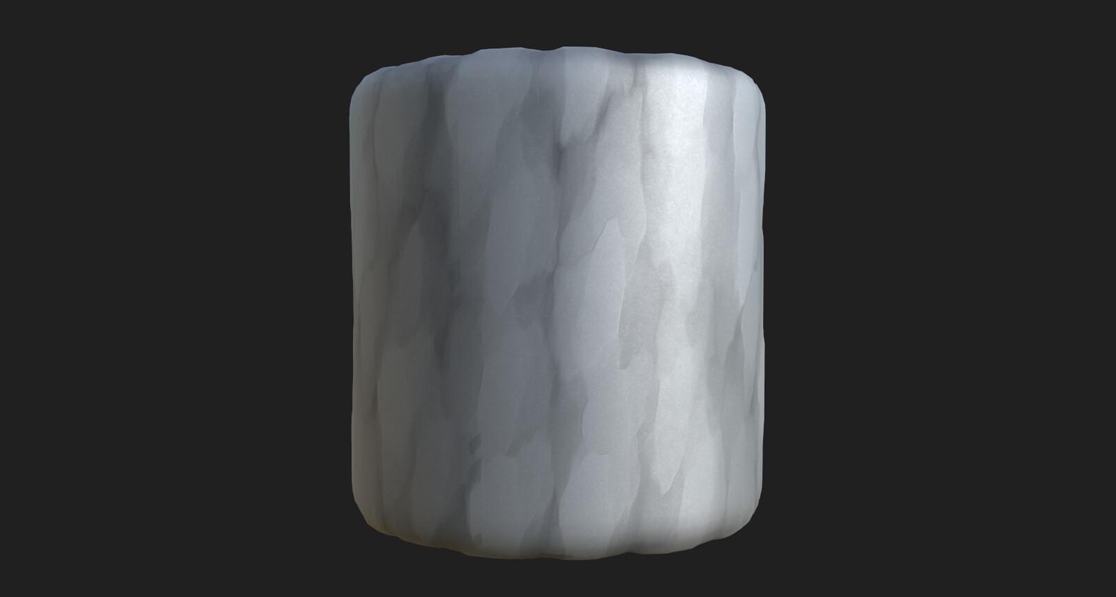 Stylized stone 1