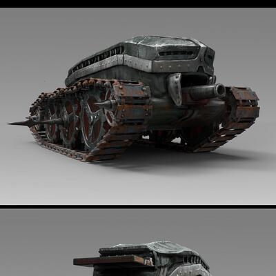 Sergey vasnev light tank
