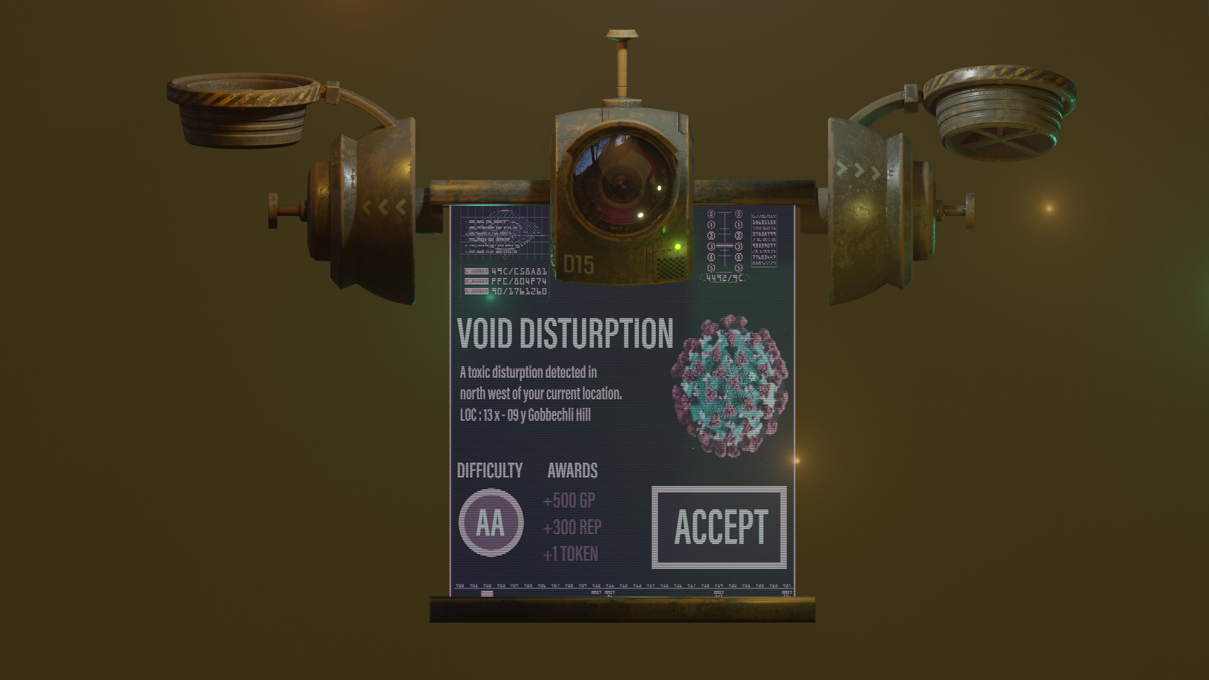 Blender Eeve - Open UI