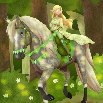 Robyn carlisle elven rider 4 interwebs