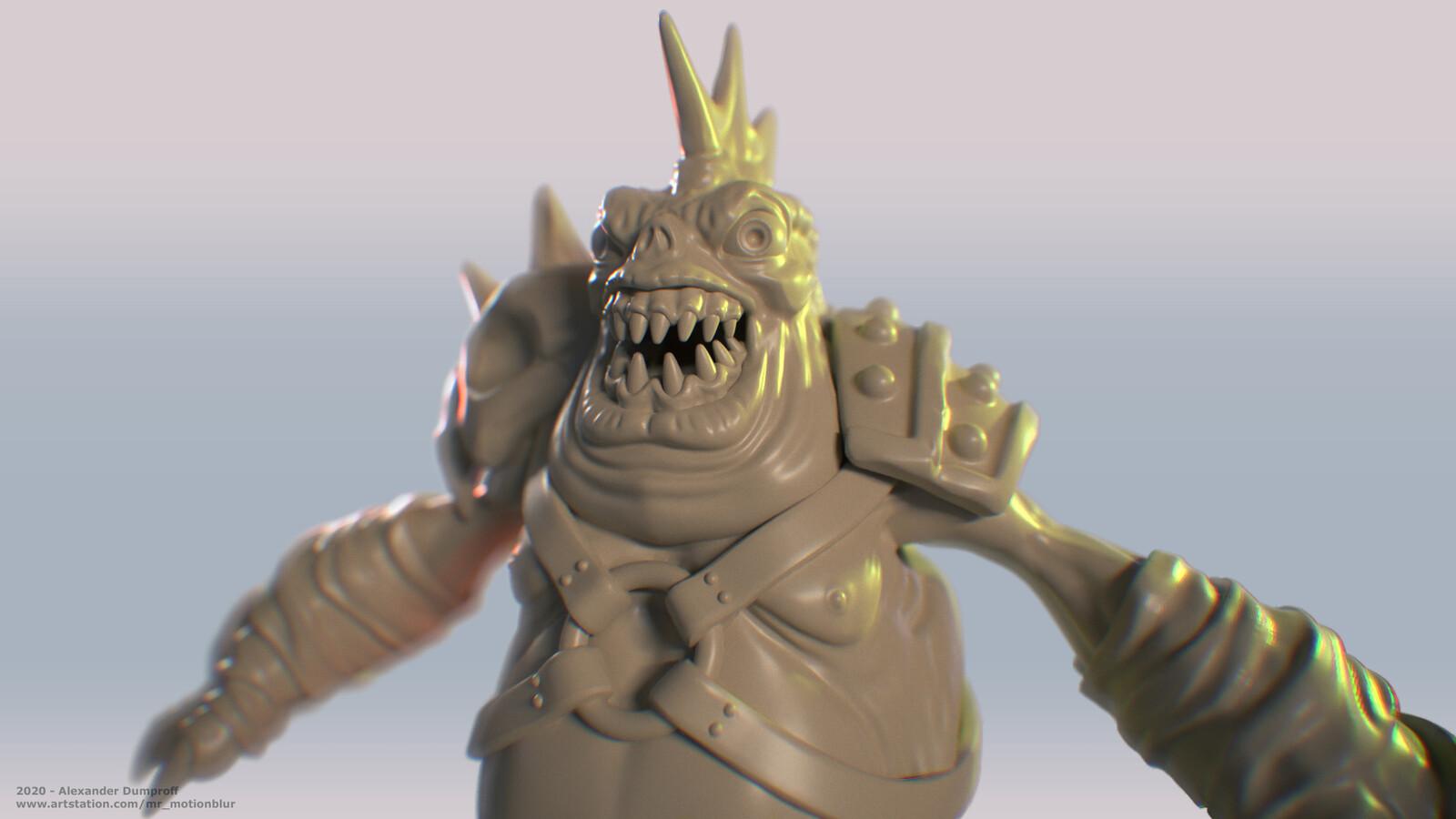 Demon Toad Warrior