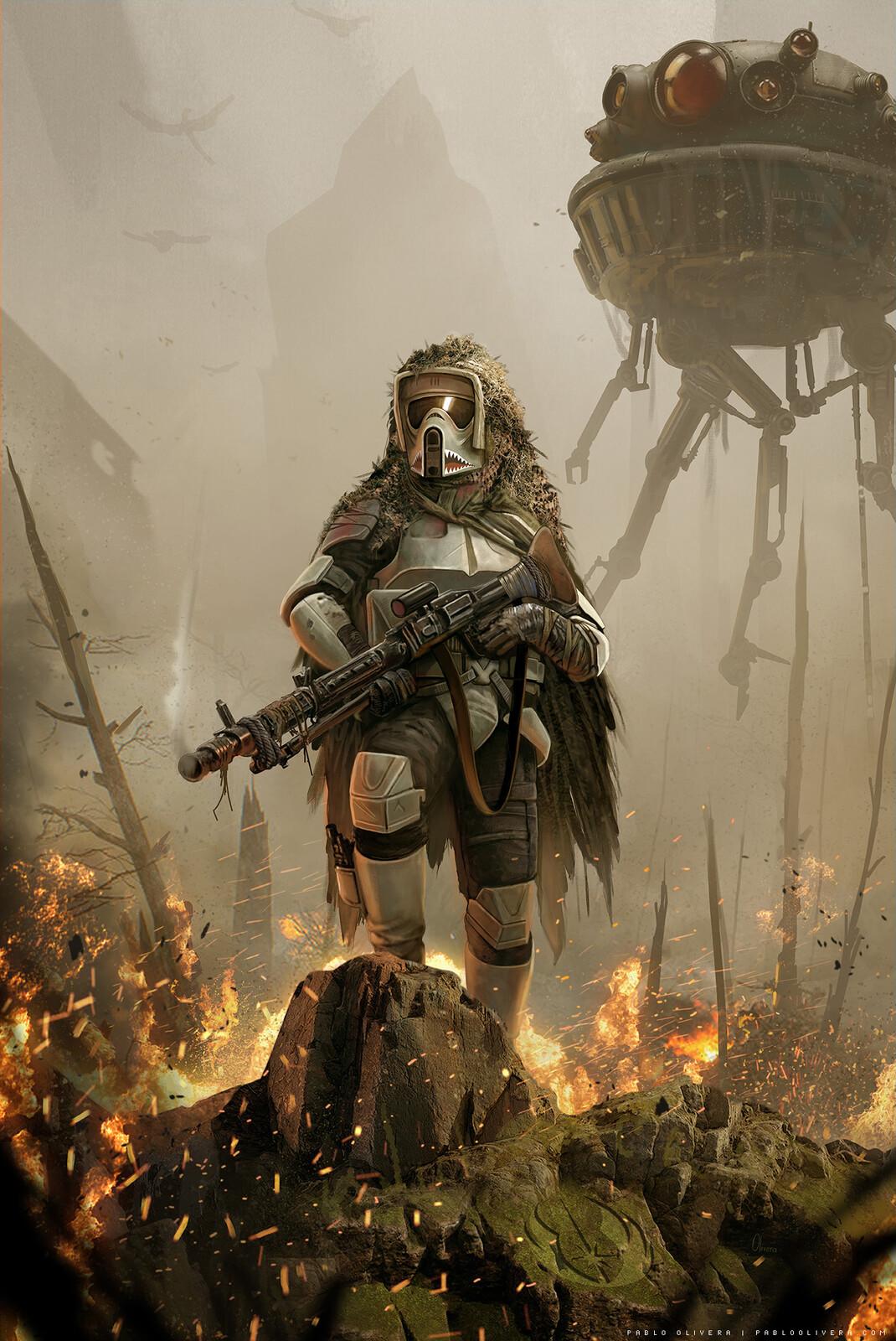 Scout Trooper - Pathfinder