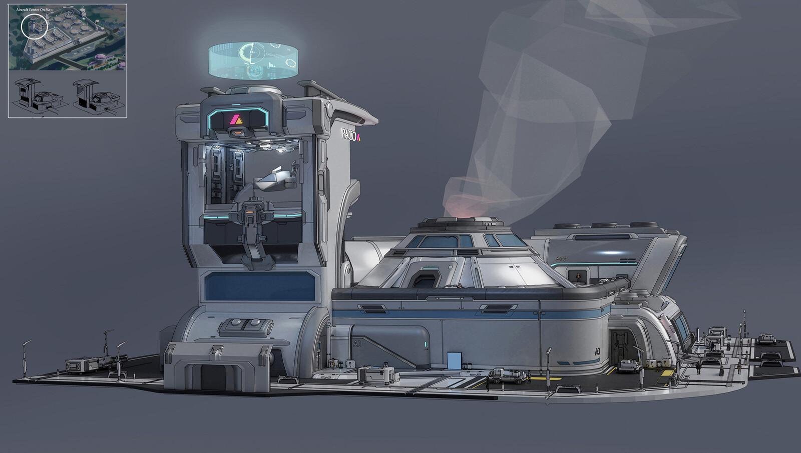 Planet L534 Sci-fi Exterior