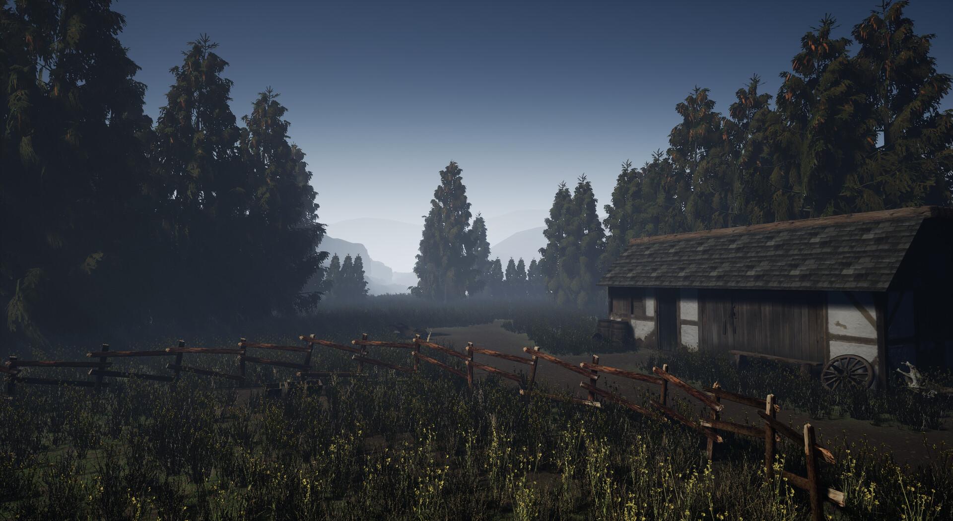 Unreal Engine Medieval Level Design