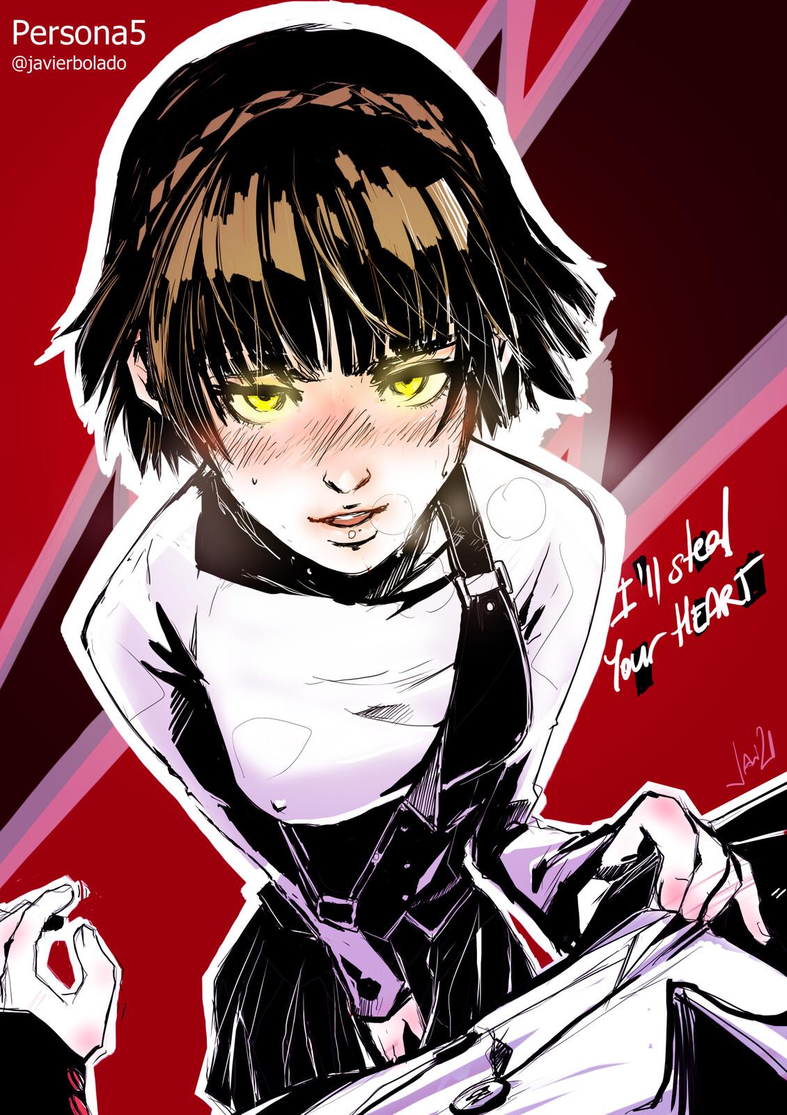 Makoto P5 私はあなたの心を盗みます